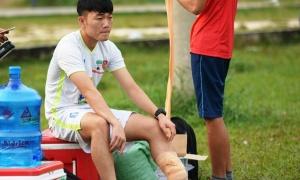 Bác sỹ Hàn Quốc thông báo tin vui về chấn thương của Xuân Trường
