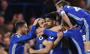 Diego Costa thông nòng, Chelsea đả bại Southampton trong cơn mưa bàn thắng