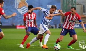 'Ủ mưu' sỉ nhục Real Madrid, Atletico buông súng trước Real Sociedad