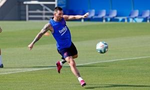 'Siêu nhân' trở lại, Barca tự tin chiến thắng trước cơn bão chấn thương