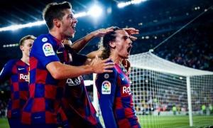 'Đại pháo' thông nòng, Barcelona nhấn chìm Real Betis trong cơn mưa bàn thắng