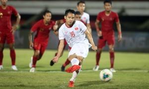 Đỗ Hùng Dũng nói 1 điều về quả penalty hỏng ăn ở trận Indonesia
