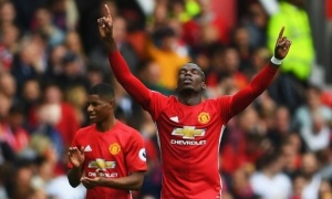 Pogba lại khiến fan MU tại Việt Nam mừng rơn