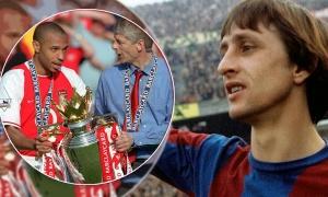 Vào ngày này |25.4| Trận hòa lịch sử của Arsenal trong sinh nhật Johan Cruyff