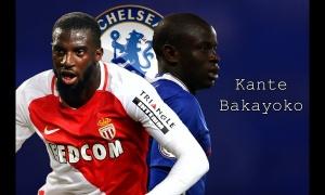Đọ tài N'Golo Kante vs Tiemoue Bakayoko