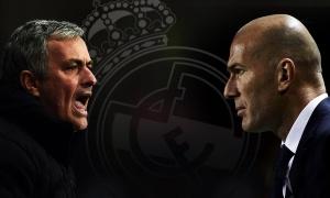 Đọ tài chiến thuật phản công của Mourinho vs Zidane