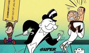 Biếm họa: Tha Messi, cục thuế Tây Ban Nha hỏi thăm Ronaldo