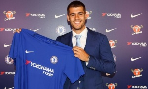 CHÍNH THỨC: Chelsea 'nổ' bom tấn Alvaro Morata, đắt kỷ lục