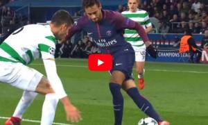 Màn trình diễn của Neymar vs Celtic