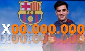 Coutinho và những cầu thủ có giá 9 con số