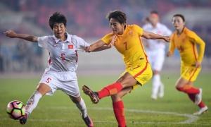 Kiều Trinh nhận thẻ đỏ, tuyển nữ Việt Nam thua trận 0-4