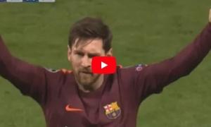 Màn trình diễn của Lionel Messi vs Chelsea
