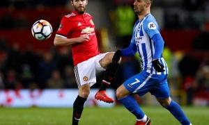 Chấm điểm Man United sau trận Brighton: Thất vọng bộ ba
