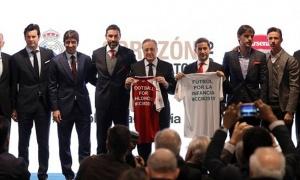 Real và Arsenal họp báo về trận từ thiện vào tháng 06