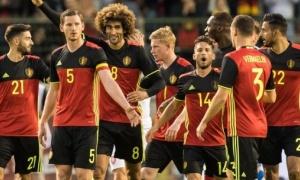 Bỉ sẽ chơi với sơ đồ nào để kết hợp các ngôi sao?