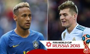 Phân tích bảng đấu E,F,G,H sau lượt 2 - Brazil gặp Đức ở vòng Knock out?