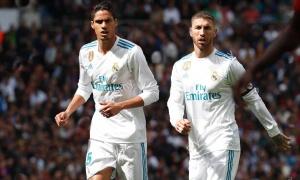 Chấm điểm Real Madrid: Thảm họa Varane - Sergio Ramos