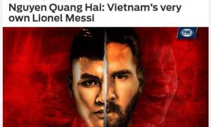 Báo châu Á: Quang Hải xứng danh 'Messi Việt Nam'