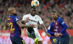 Highlights: Sevilla 2-0 Barcelona (Cúp nhà Vua TBN)