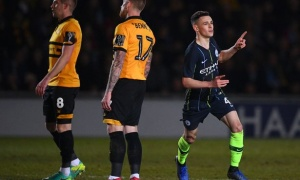 Highlights: Newport County 1-4 Man City (FA Cup)