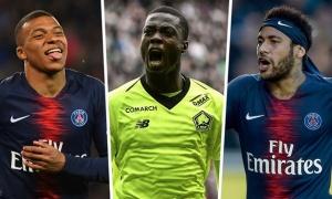 Đội hình xuất sắc nhất Ligue 1 2018/2019: Bộ ba 'hủy diệt'