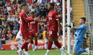 Highlights: Bradford City 1-3 Liverpool (Giao hữu)