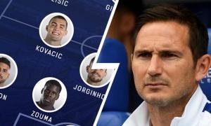 Chelsea và Lampard sẽ chơi với đội hình nào trước Leicester City?