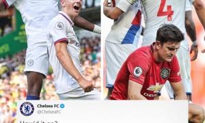 Bị Man Utd 'cà khịa', đây là đáp trả của Chelsea