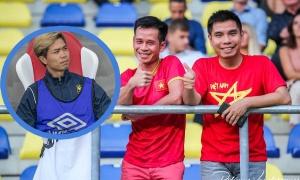 CĐV Việt Nam đến sân nhà Sint-Truiden, nhưng Công Phượng được thi đấu
