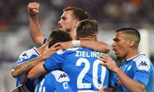 'Tam tấu' MIC tỏa sáng, Napoli nhọc nhằn đánh bại Fiorentina