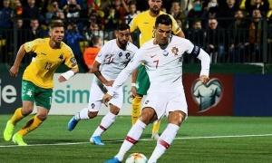 Ronaldo lập cú poker đẳng cấp tại vòng loại EURO 2020