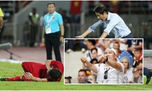 Chỉ trích Tiến Dũng, HLV Nhật Bản quên điều ghê tởm mình từng làm ở World Cup 2018
