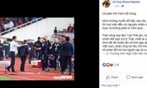 CHOÁNG! Thái Lan 'chơi bẩn' và sự thật khủng khiếp việc HLV Park Hang-seo nổi đóa