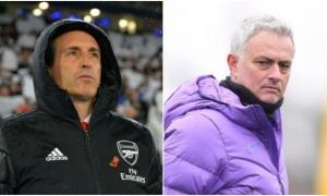 XONG! HLV Emery phản ứng không ngờ khi Mourinho thay thế Pochettino