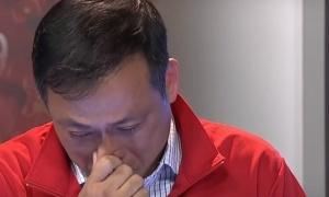 Nói về U22 Việt Nam, BLV Quang Tùng bật khóc ngay trên sóng truyền hình