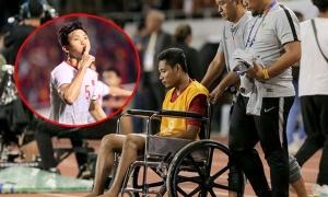 HLV Lê Thụy Hải lên tiếng về pha bóng của Văn Hậu: 'Đó không phải chuyện đạo đức'