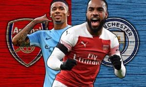 10 con số hâm nóng đại chiến Arsenal - Man City: Trùm sáng tạo và vua ngược dòng