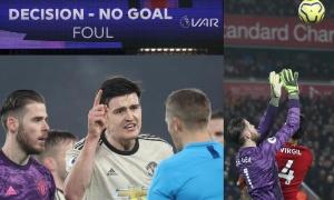 Dàn sao muốn 'ăn tươi nuốt sống' trọng tài, Man Utd trả giá đắt