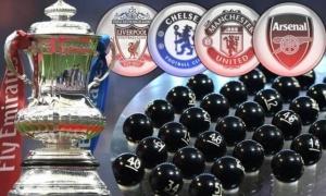 CHÍNH THỨC! Vòng 5 FA Cup: Viễn cảnh siêu sốc ở tứ kết!