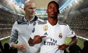 Chủ tịch khẳng định: 'Pogba sẽ khoác áo Real Madrid'