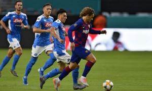 Đấu Napoli, Barca e dè 3 'sát thủ', 1 mục tiêu triệu đô của Real Madrid