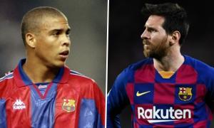 'Messi là cầu thủ duy nhất làm được những điều Ronaldo đã từng'