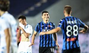 Atalanta vượt Man City về số bàn thắng ở giải quốc nội