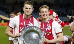 Ajax mong đợi sự giúp đỡ của De Ligt, De Jong ở C1