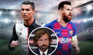 Bỏ qua Ronaldo, Pirlo công nhận Messi là cầu thủ xuất sắc nhất
