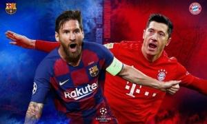 TRỰC TIẾP Barcelona 1-1 Bayern Munich: Alaba phản lưới nhà