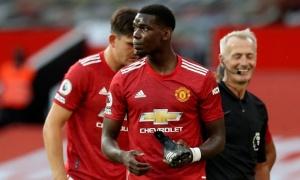 10 con số ấn tượng trận Man Utd 1-3 Palace: 'Cạn lời' hàng công