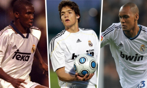 Top 10 ngôi sao bị lãng quên trong màu áo Real Madrid