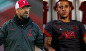 Đối đầu Arsenal, Klopp xác nhận Henderson chấn thương, Thiago đá chính?