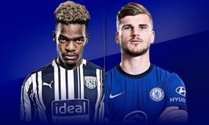 TRỰC TIẾP West Brom - Chelsea: Đội hình dự kiến